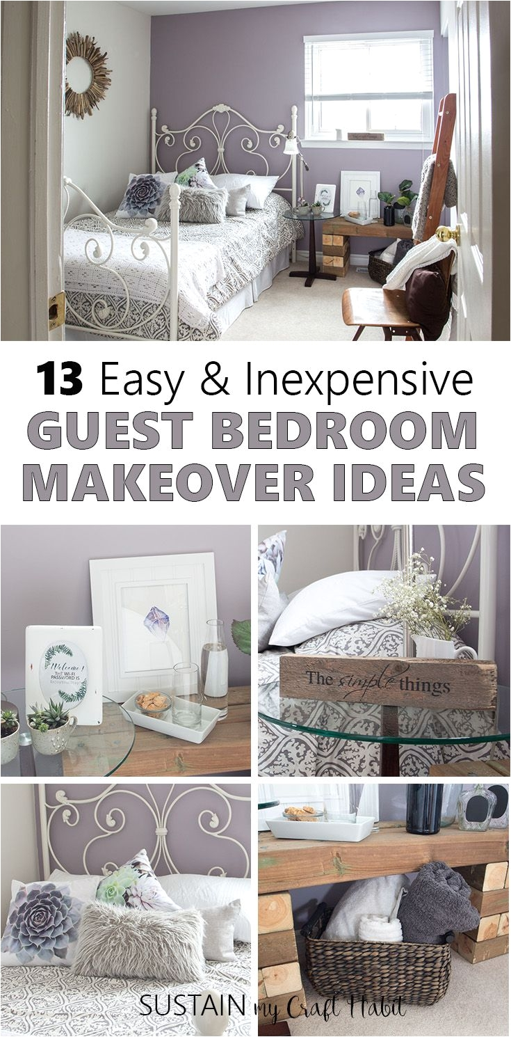 Guest Bedroom Color Ideas Mauve Lous Guest Bedroom Ideas A Simple Spare Room Refresh