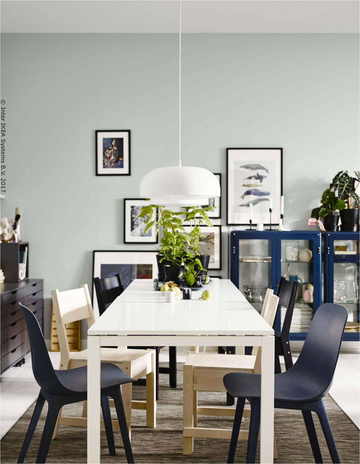 Dva MELLTORP stola tvore više od običnog stola za jelo Postaju mjesto za rad
