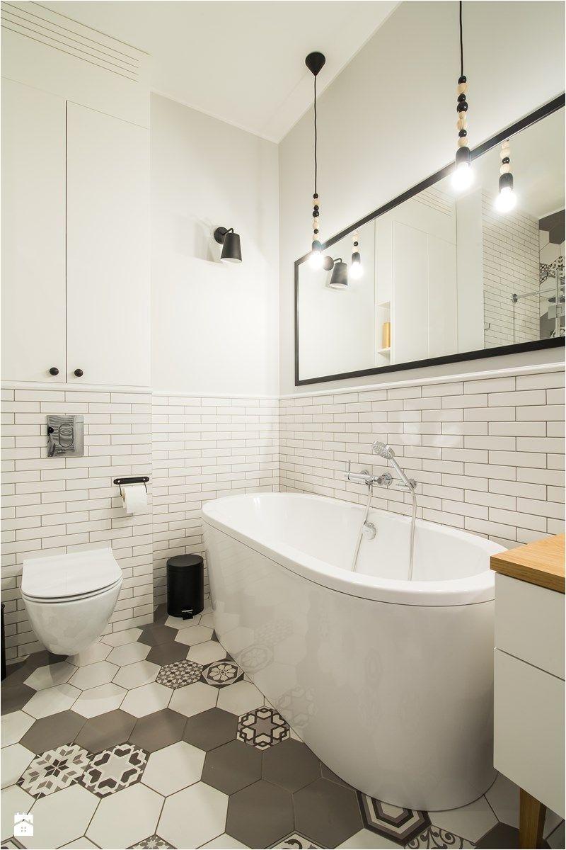 Interior Design Ideas Bathroom Tile Skandynawski ŠOliborz Łazienka Styl Skandynawski Zdjęcie Od Eg