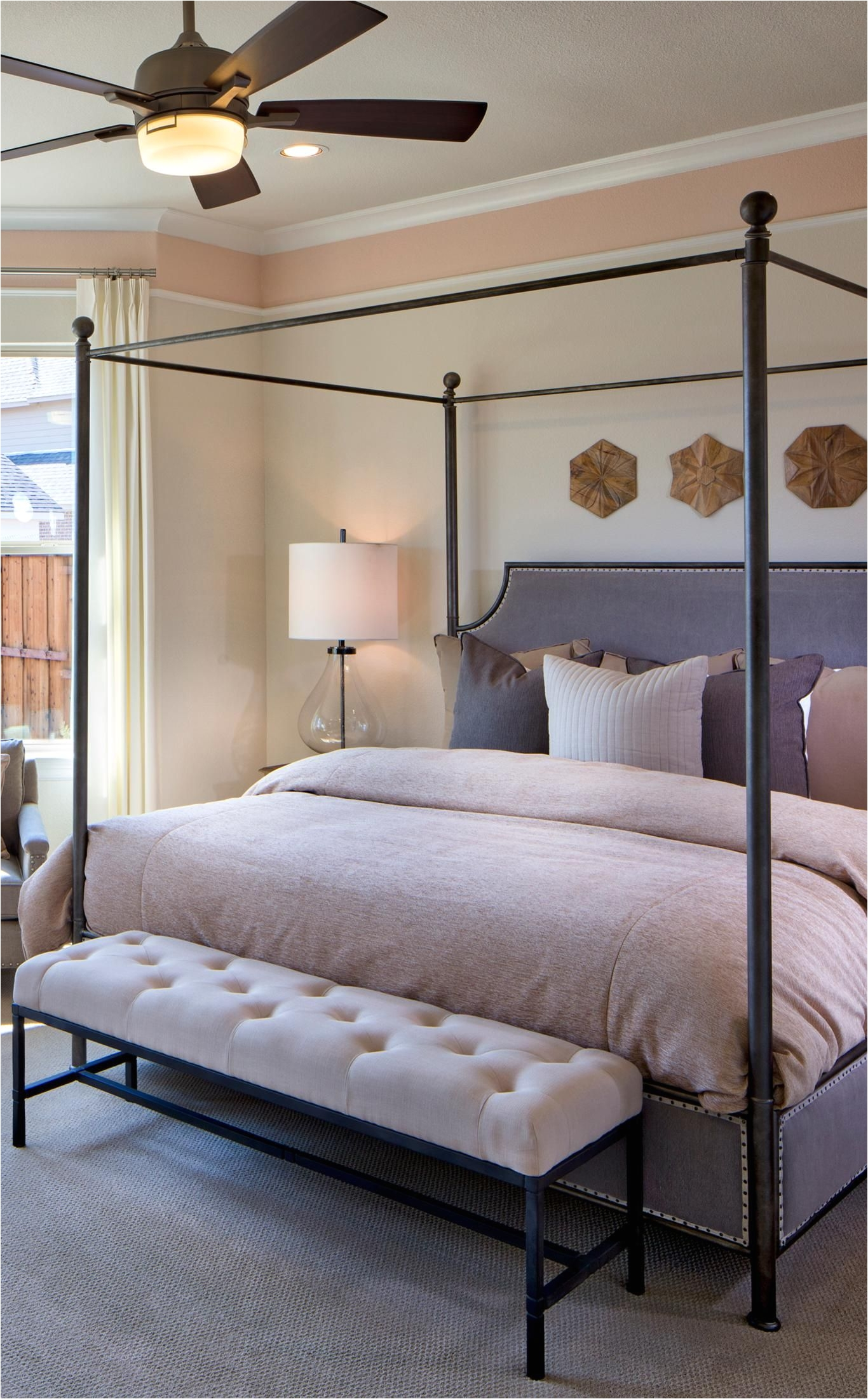 A dream master bedroom suite