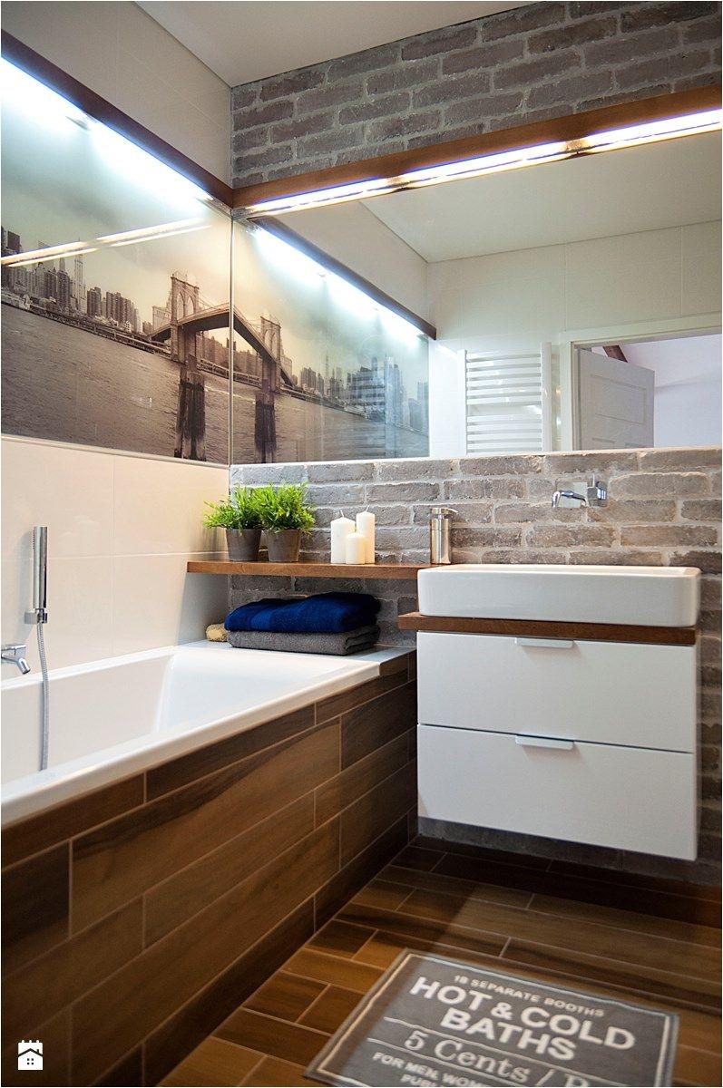 Łazienka styl Skandynawski Łazienka zdjęcie od STUDIOLOKO Small BathroomsModern BathroomsSmall Bathroom IdeasBrick
