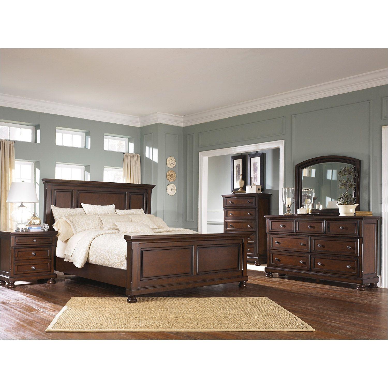 Porter 5 Piece Bedroom Set B697 5PCSET
