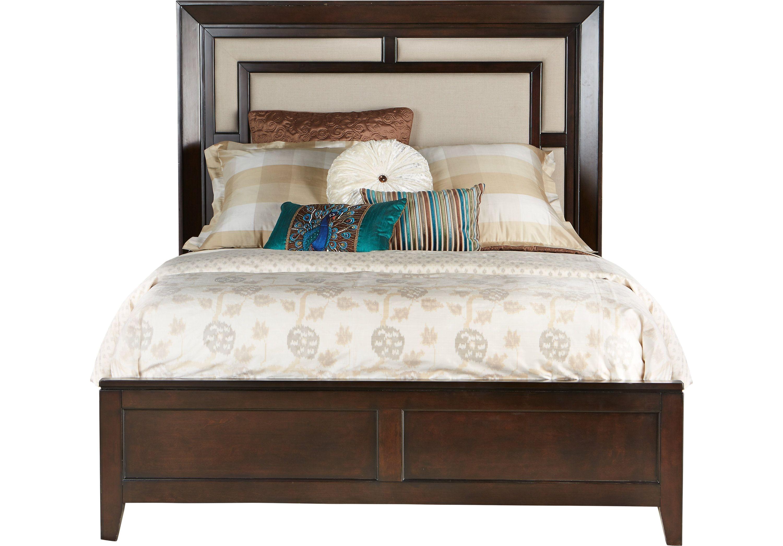 picture of Sofia Vergara Santa Clarita Dark Cherry 5 Pc Queen Bedroom from Bedroom Sets Furniture