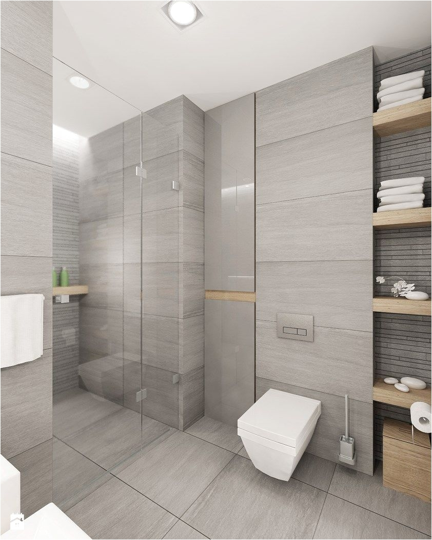 Średnia łazienka bez okna styl nowoczesny zdjęcie od 4ma projekt Spa Bathroom DesignSpa