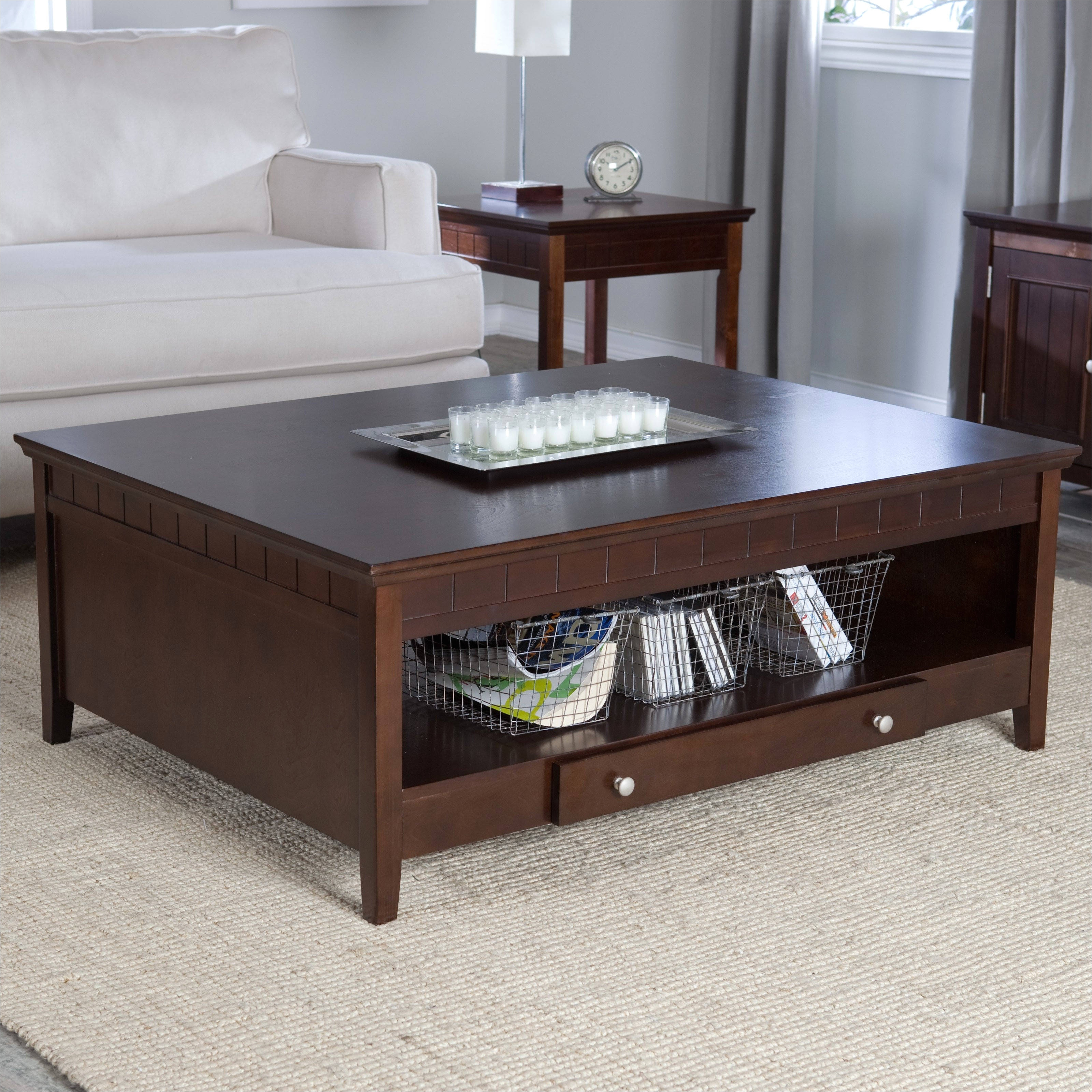 Storage Living Room Tables Coffee Table and End Tables with Storage Elegant End Tables with