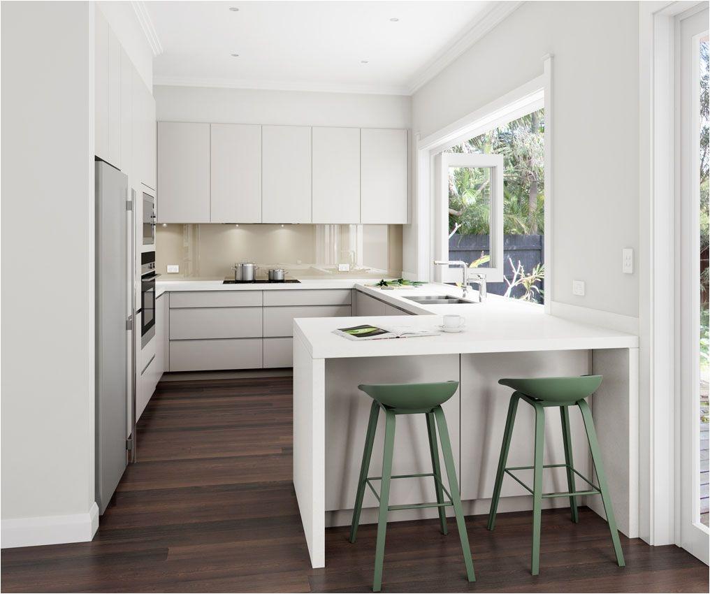 U Shaped design with small peninsula Manly NSW DanKitchensAus