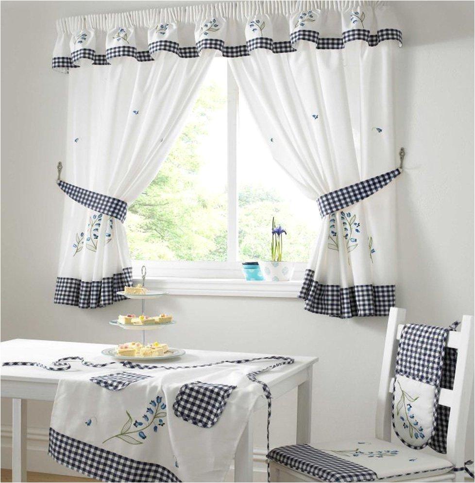 Cool Kitchen Window Curtains Kitchen Window Curtains Geometric Decoration Inspiration