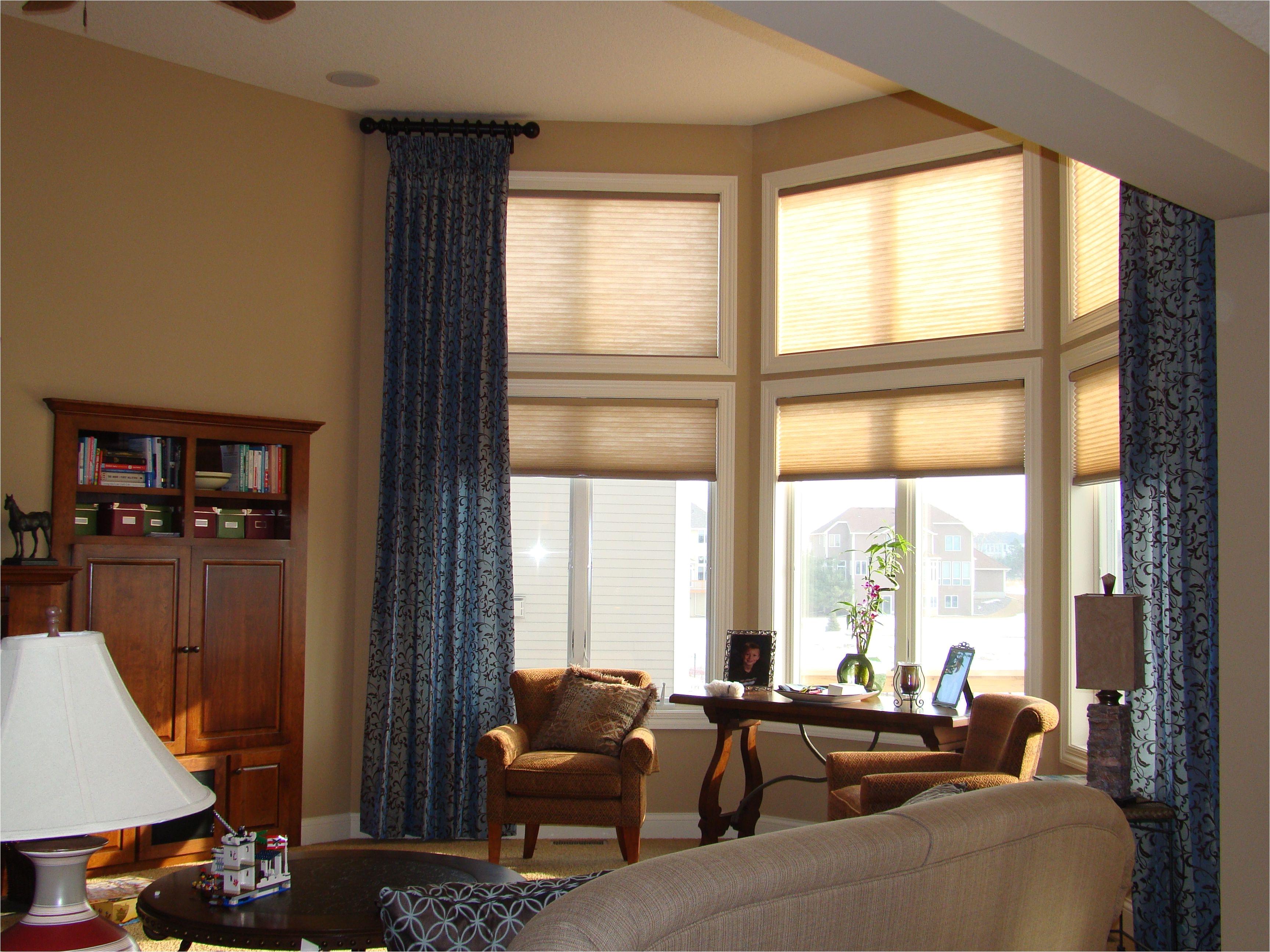 Double Rod Curtain Ideas Decoration Ideas CURTAINS FOR TALL WINDOWS Curtain Rods Window