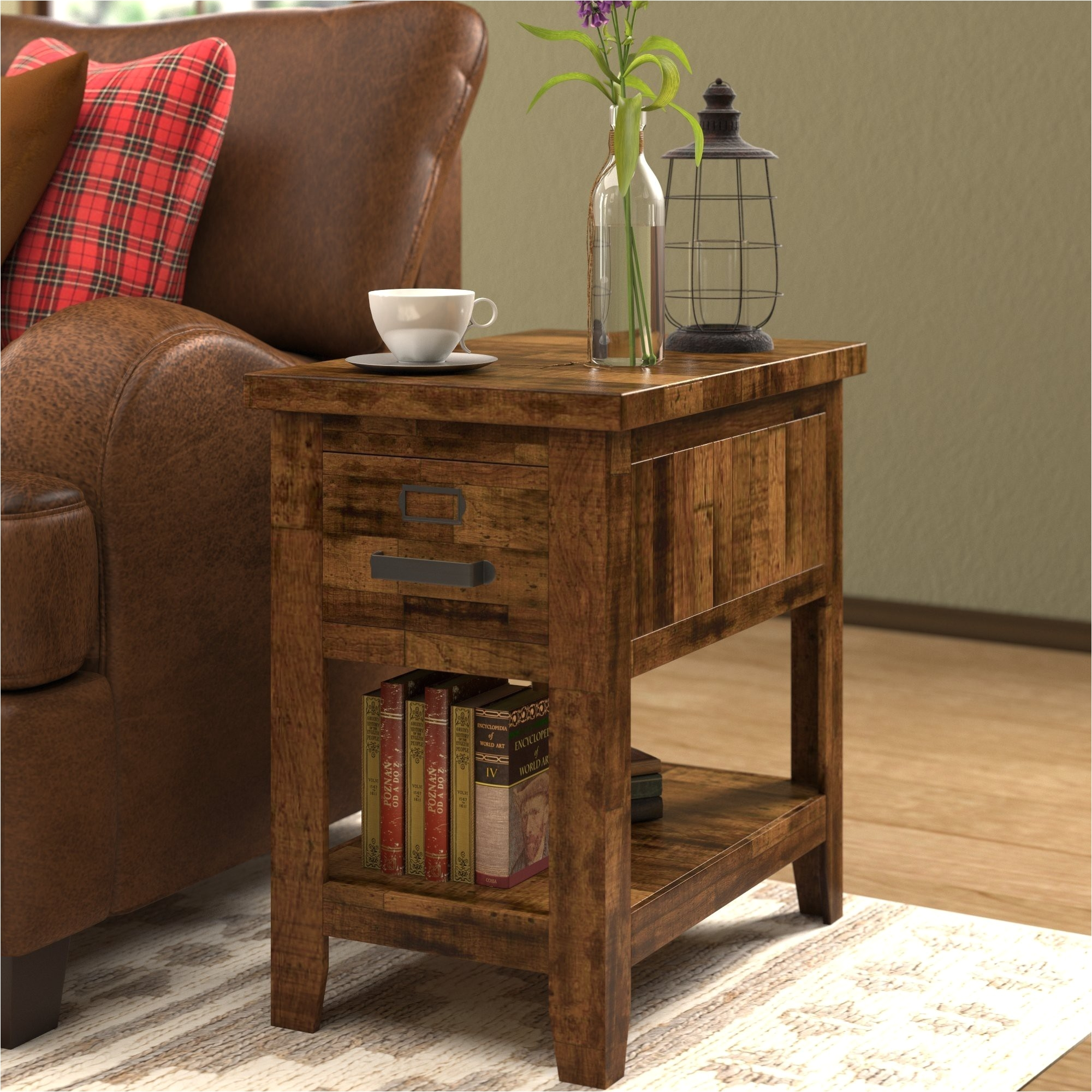 Engaging Wood Side Tables Living Room Valid The Terrific Unbelievable Storage Chest End Table S Jockboymusic