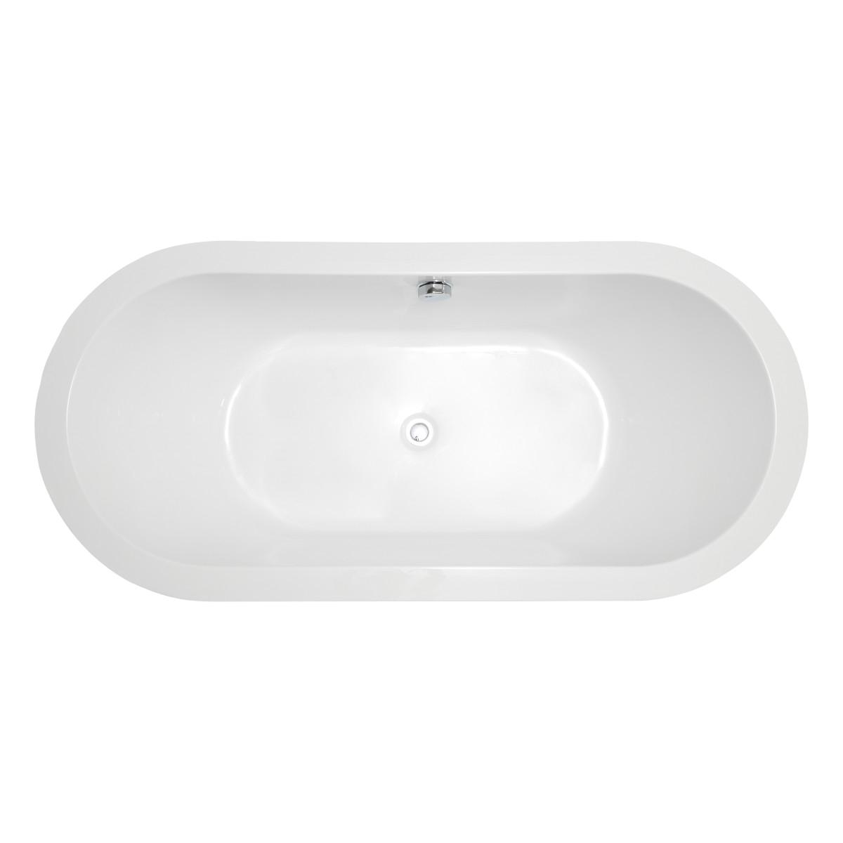 1600mm Freestanding Bathtub Freestanding Bath Royce Oval 1600mm