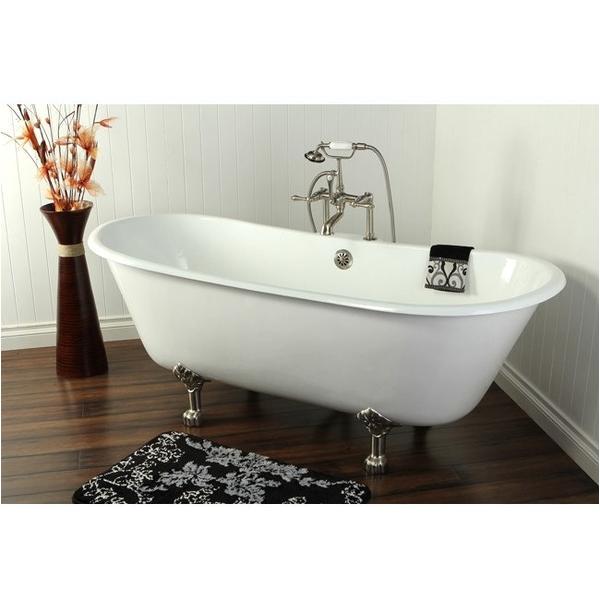 kingston brass double slipper aqua eden 67 freestanding clawfoot tub