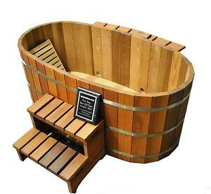 2 Person Deep soaking Bathtubs Uro Japanese soaking Hot Tub 2 Person Wooden Tub