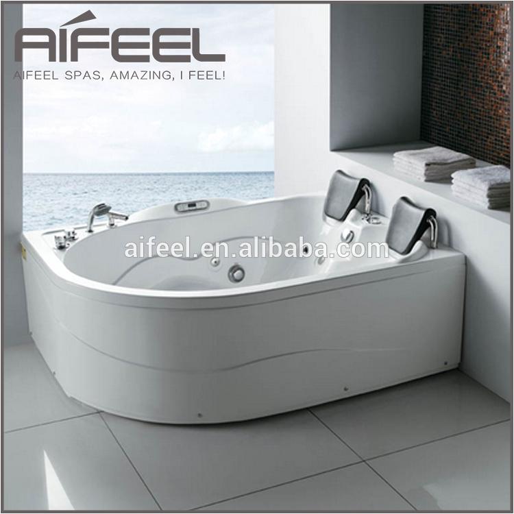 bathroom acrylic 2 person indoor whirlpool
