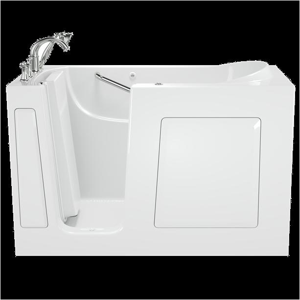 gelcoat value series 60x30 inch walk in bathtub with whirlpool massage system left hand door
