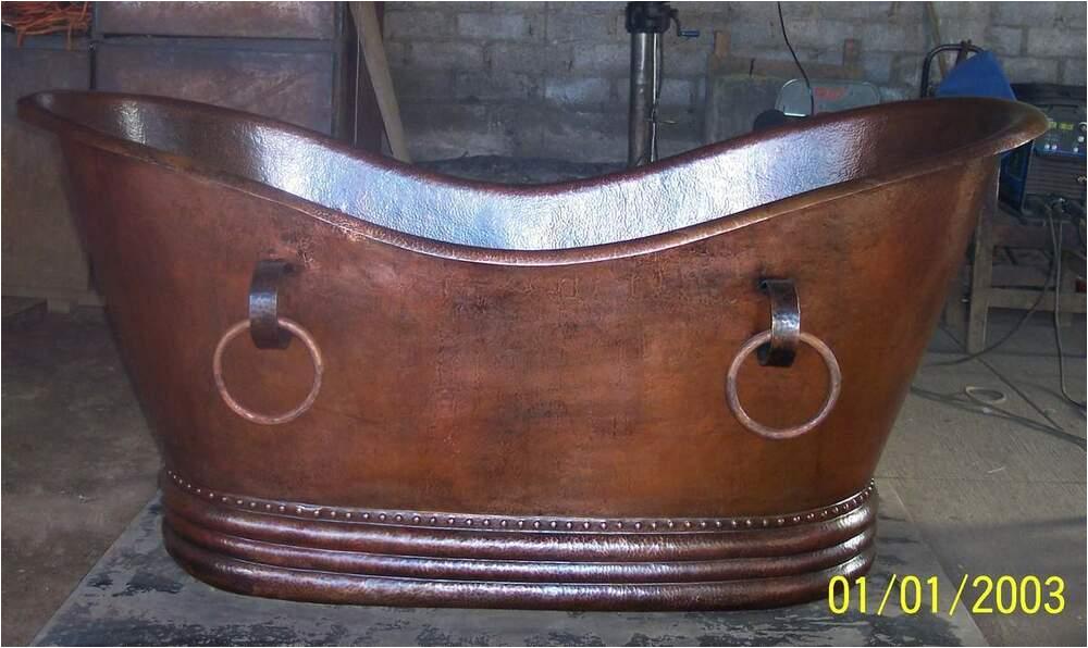 30 X 60 Bathtubs Double Slipper Copper soaking Tub Bathtub 60 X 30 X 30