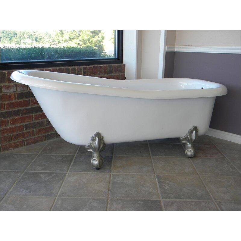 restoria bathtub pany ambassador 60 x 30 freestanding bathtub ksto1004