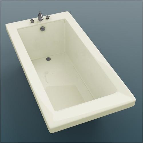 Guadeloupe 36 x 72 x 23 Rectangular Soaking Bathtub modern bathtubs