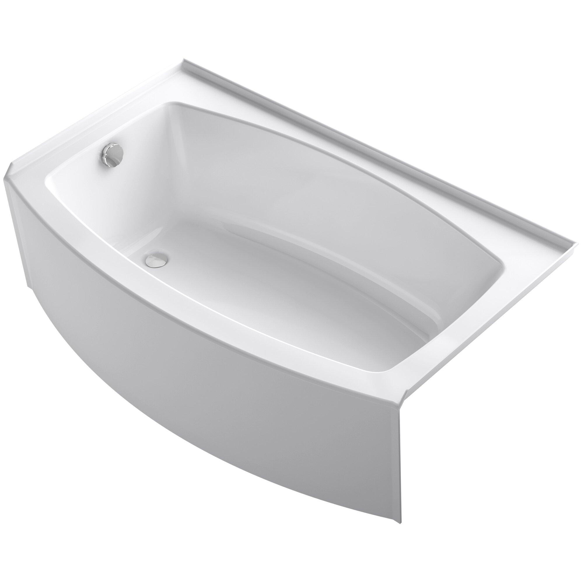 Kohler Expanse 60 x 30 36 Soaking Bathtub KOH