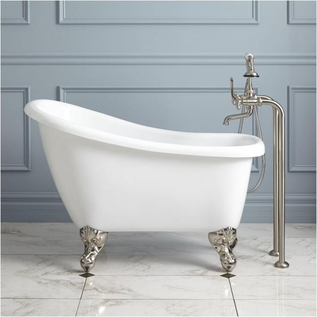 4 foot clawfoot tub