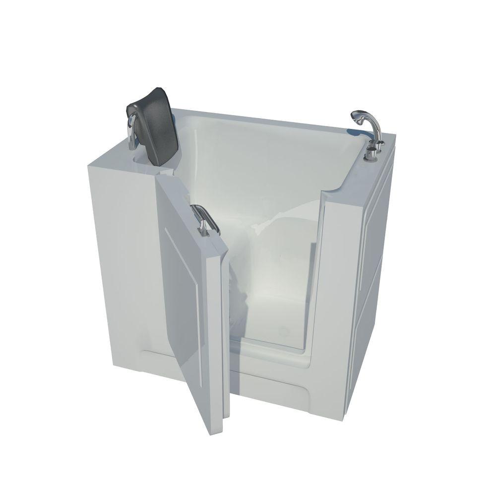 4 Foot Bathtub Lowes Universal Tubs Nova Heated 3 3 Ft Walk In Non Whirlpool