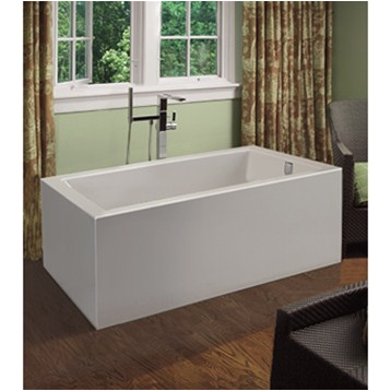 mti andrea 17 freestanding sculpted tub 54 x 30 x 20 25 mtds 107a