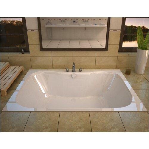 Spa Escapes Dominica 60 x 48 Soaking Bathtub WF4860N XVZ1386