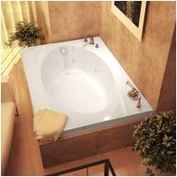 48 Jetted Bathtub Shop atlantis Whirlpools Charleston 48 X 72 Rectangular