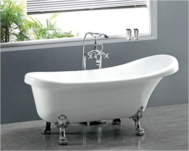freestanding acrylic bath 984