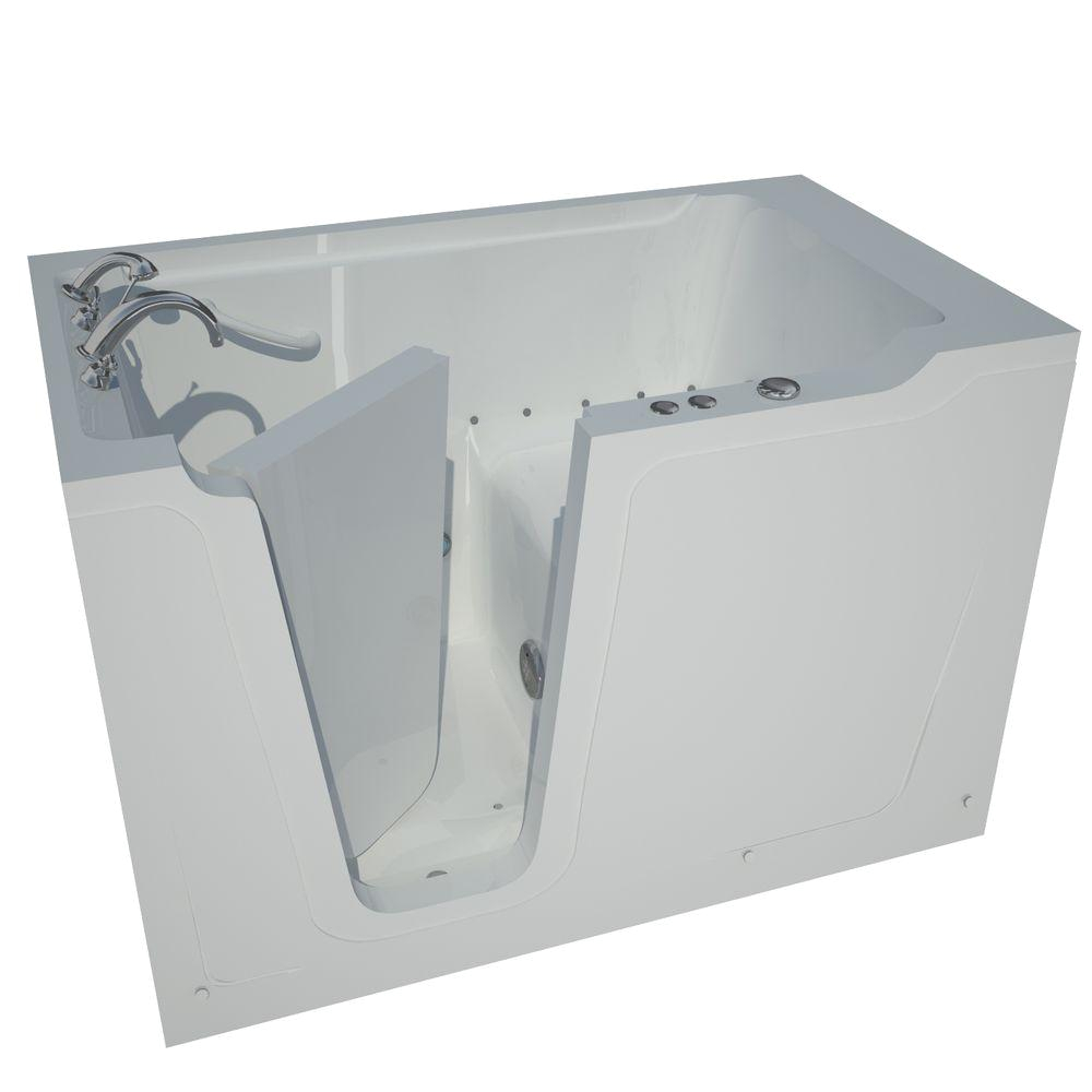 5 Foot Jetted Bathtub Universal Tubs Nova Heated 5 Ft Walk In Air Jetted Tub In