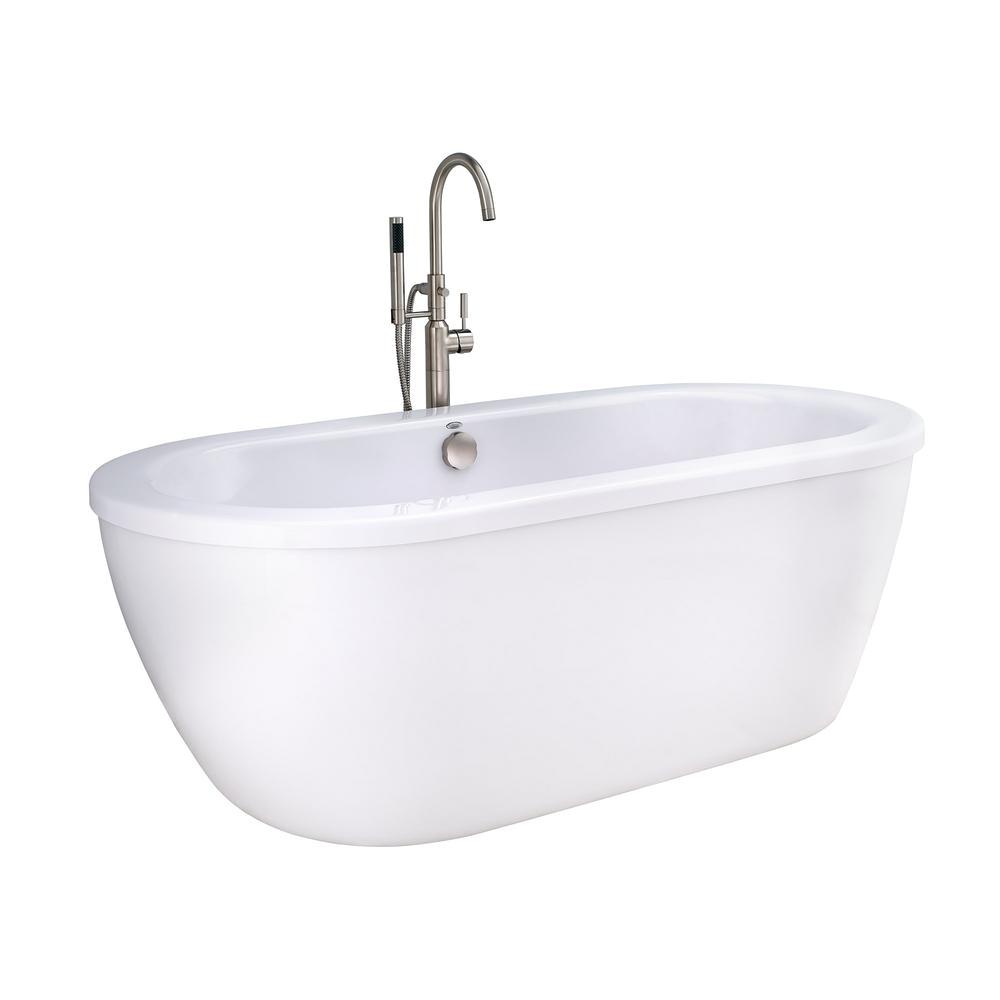 5 Ft Whirlpool Bathtub American Standard Cadet 5 5 Ft Acrylic Flatbottom Non