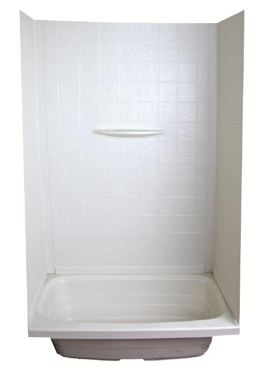 54 by 27 Inch Bathtub Lippert Ponents Shower Surround Better Bath 1