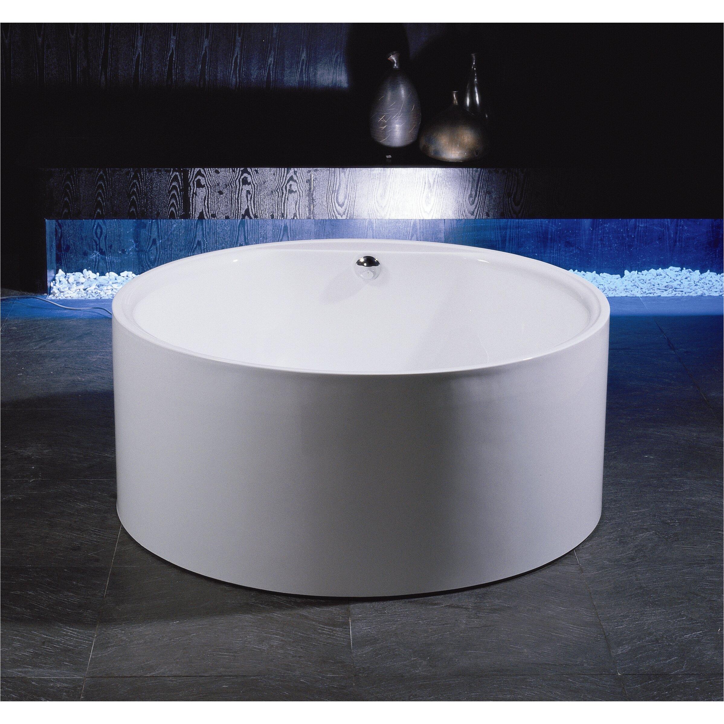 Aquatica PureScape 54 x 54 Freestanding Acrylic Bathtub XAI1274
