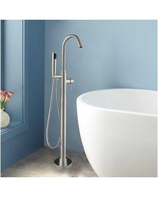 woodbridge woodbridge 54 x 29 freestanding soaking bathtub bta1507 plus f0001 pcf7e6e6d78d cccc