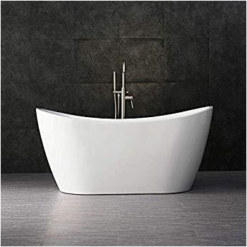 "54 Freestanding Bathtub Woodbridge 54"" Acrylic Freestanding Bathtub Contemporary"