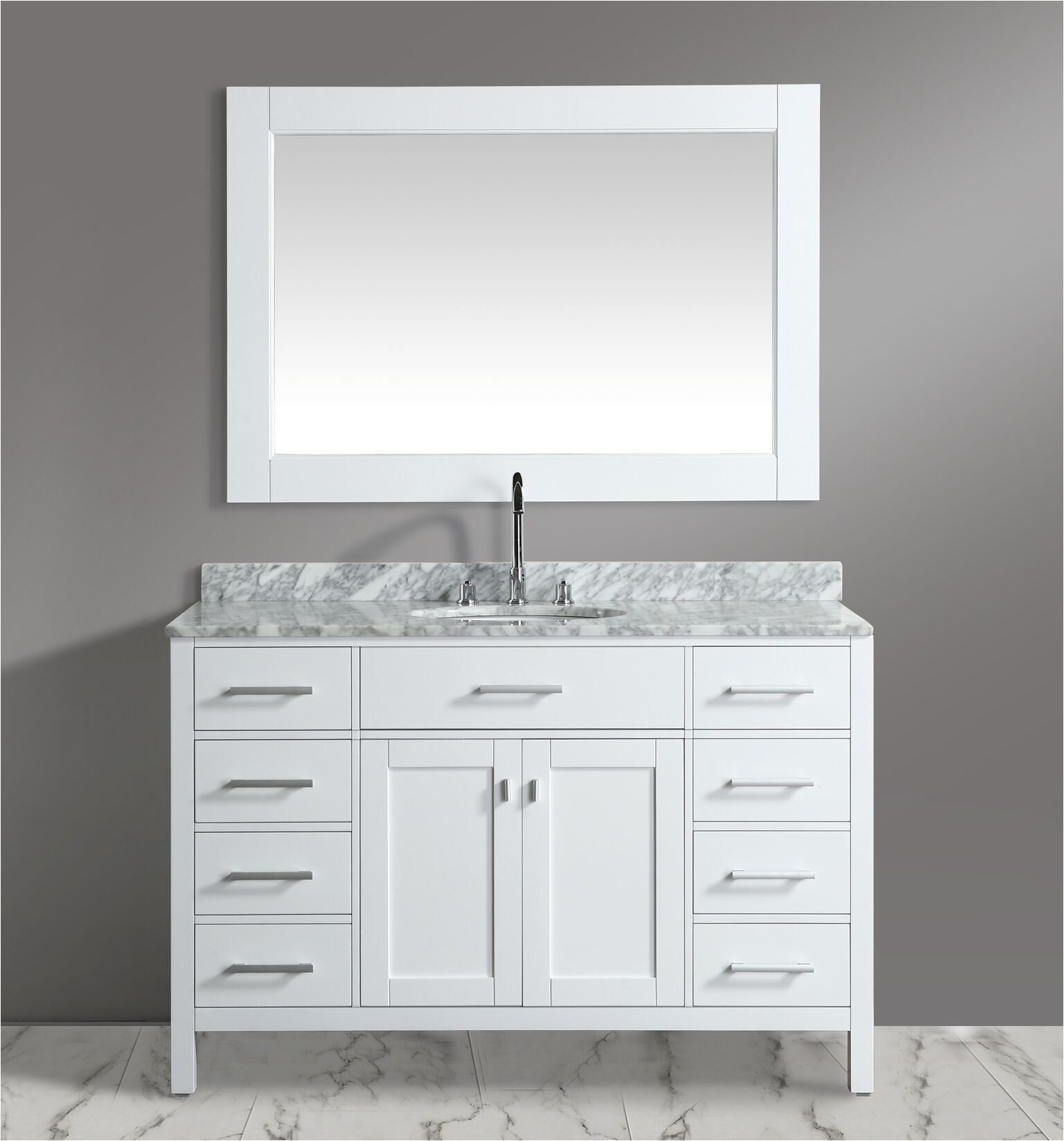 bathroom vanity 54 inches wide