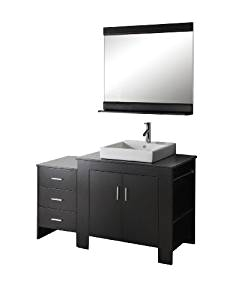 54 Inch Bathroom Vanity Single Sink Virtu Usa Ms 7054r Es Tavian 54 Inch Single Sink Bathroom