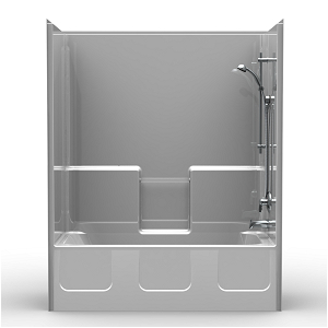 2030 54x32 one piece tub shower with wall surround kit
