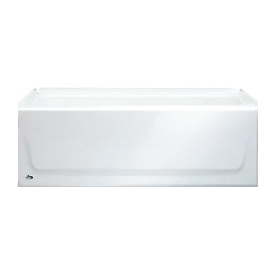 54 Inch Bathtub Left Hand Drain Bootz 011 2302 Kona Bathtub with Slip Resistant Bottom
