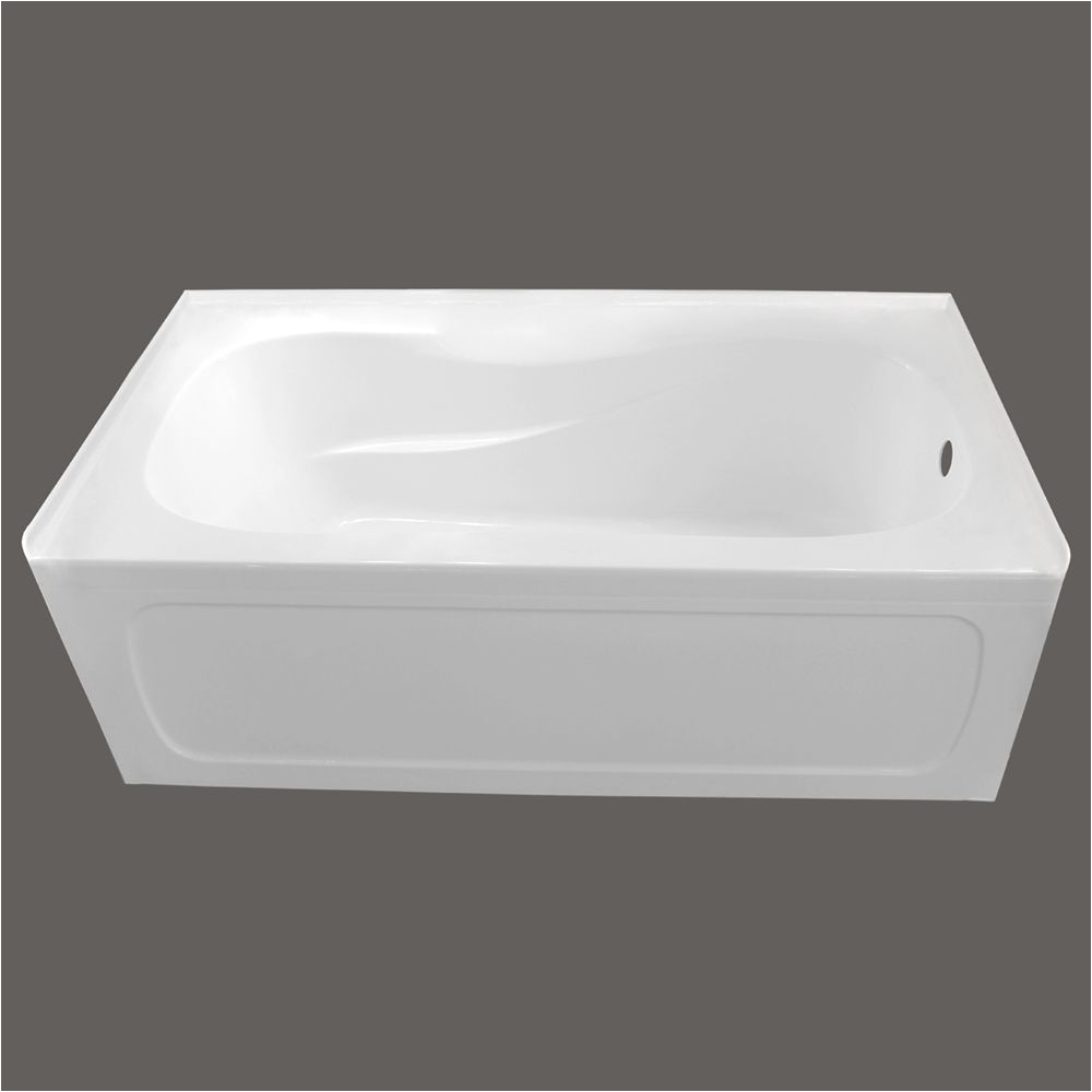 54 Inch Bathtub Right Drain Bathtubs