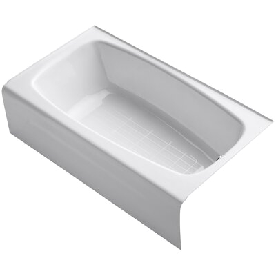 Kohler Seaforth 54 X 30 1 4 Alcove Bath with Right Hand Drain 746 KOH