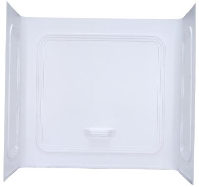 kinro mobile home 1 piece white picture frame surround 27 in x 54 in pt wf
