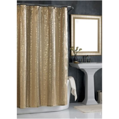 gold sheer curtains