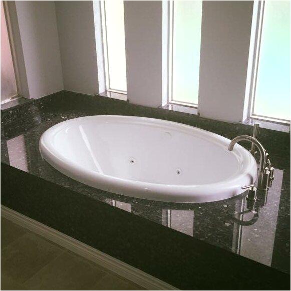 American Acrylic 58 x 39 Whirlpool Bathtub XCX1363