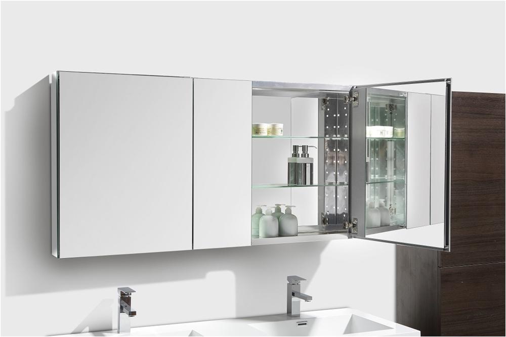 50 wide bathroom medicine cabinet w mirrors