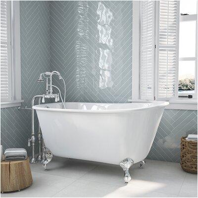 35 55 inches clawfoot bathtubs c a