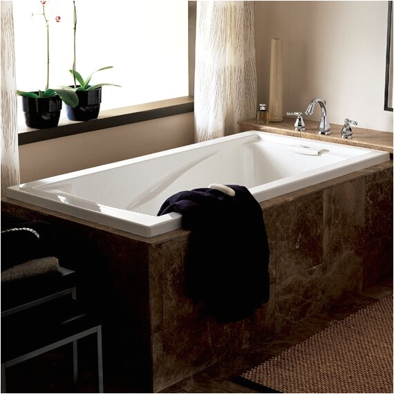 American Standard Evolution 62 56 x 38 56 Soaking Bathtub ASD9451