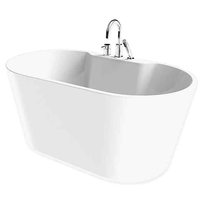 56 Inch Freestanding Bathtub A&e Bath and Shower Retro 56 Inch X 32 Inch Acrylic