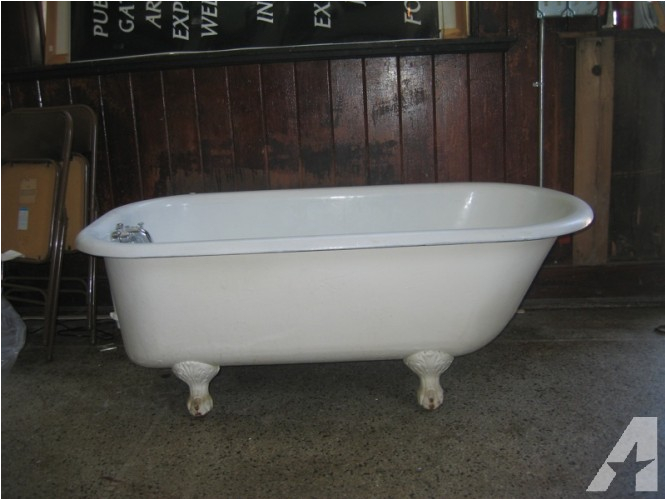 58 clawfoot bathtub for sale