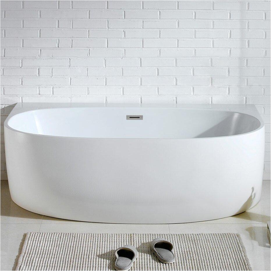 "58 Inch Bathtubs for Sale Pacificcollection Monte 58"" X 33"" soaking Bathtub"