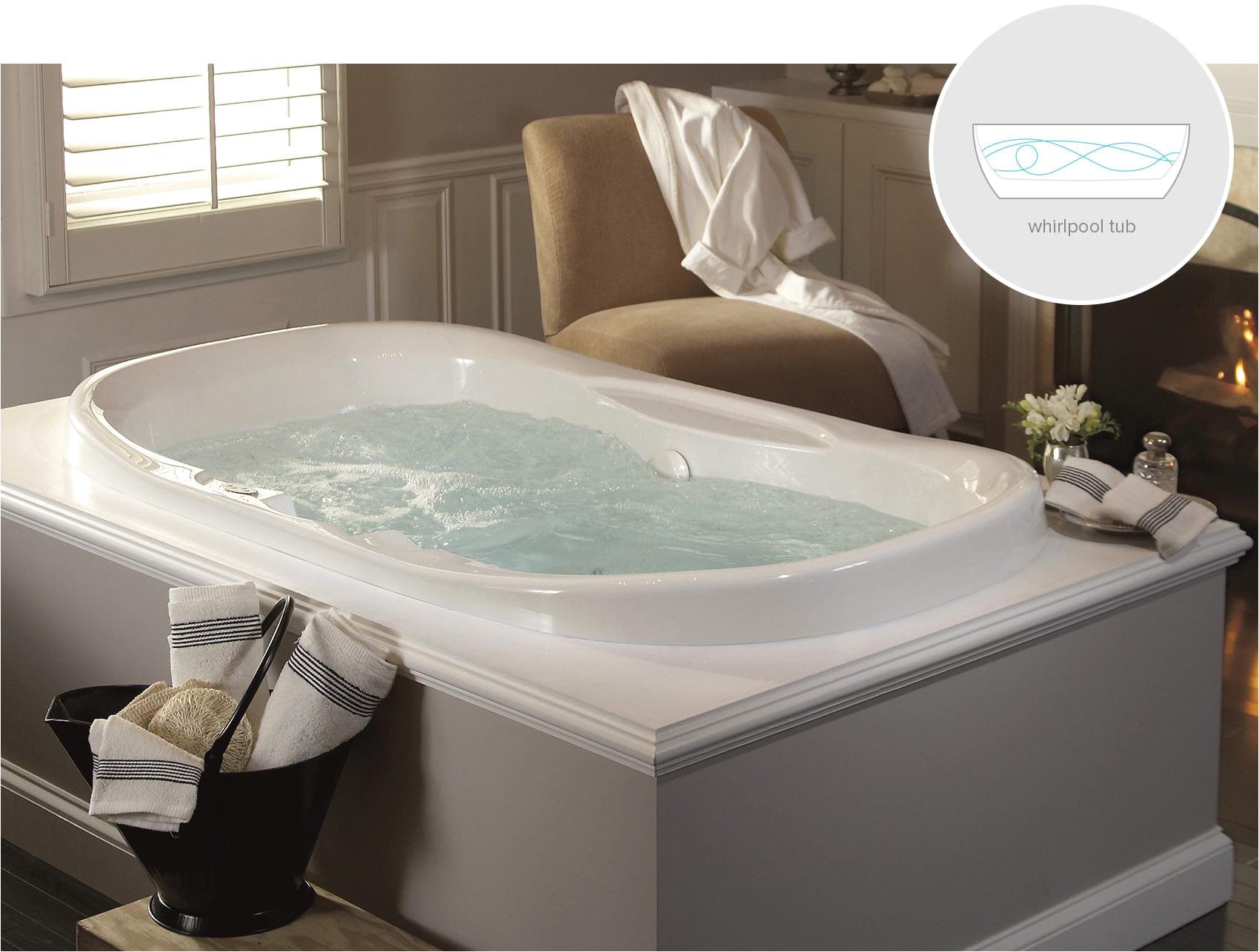 whirlpool bathtubs for luxury bathroom ideas